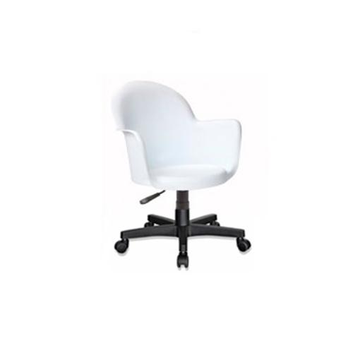 Cadeira Boston Giratória Branca