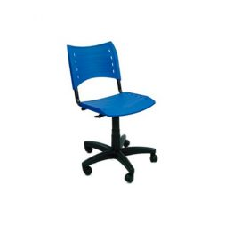 Cadeira Iso Giratória Azul