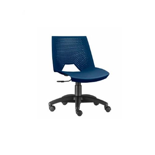 Cadeira Strike  Giratória Azul