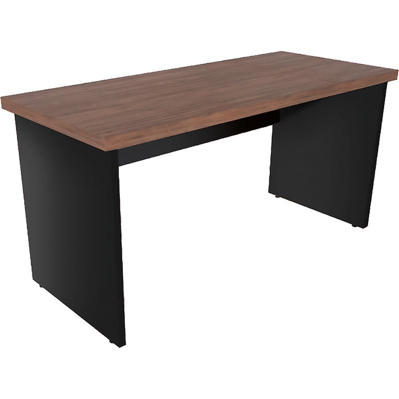 Mesa Reta com tampo encabeçado 40mm